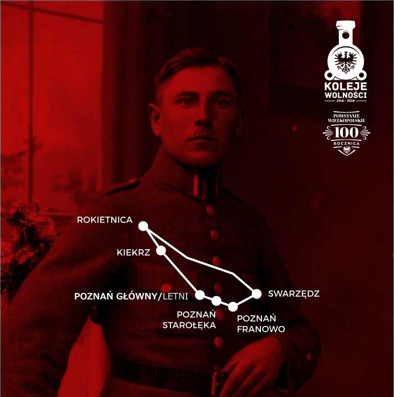 Koleje Wolności 1918-2018 - Podróże szlakami Powstania Wielkopolskiego