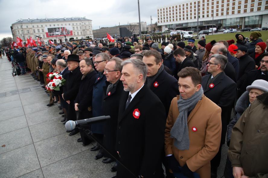 Uroczystości z okazji 100. rocznicy wybuchu Powstania Wielkopolskiego - relacja z obchodów w Warszawie