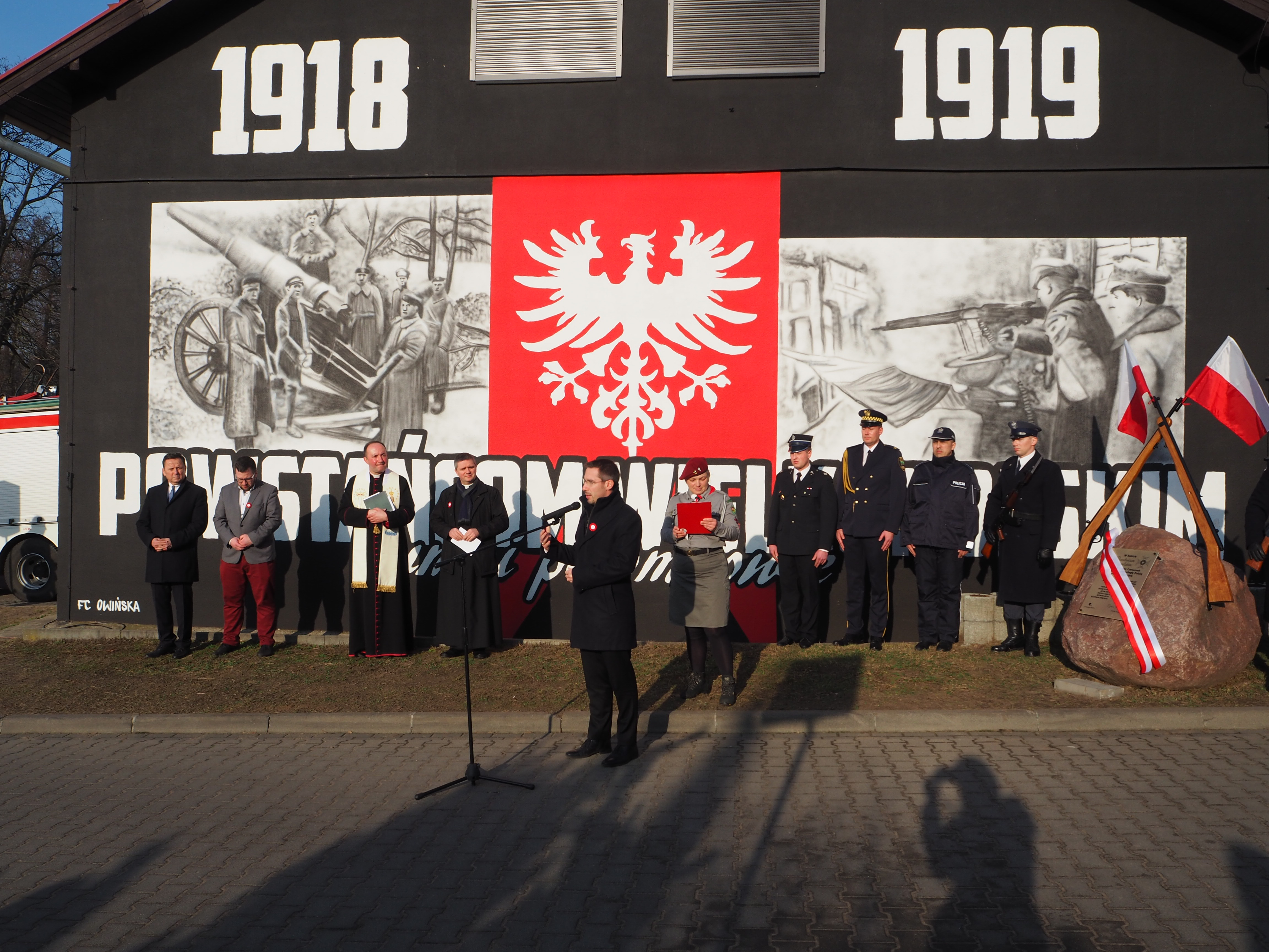 Gmina Czerwonak uczciła Powstańców Wielkopolskich