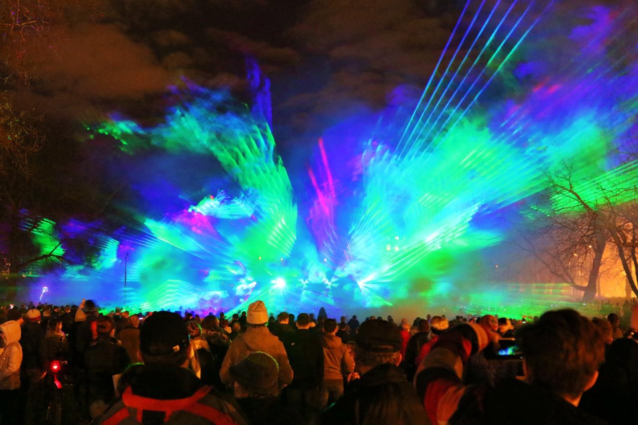 Festival of light w hołdzie Powstańcom