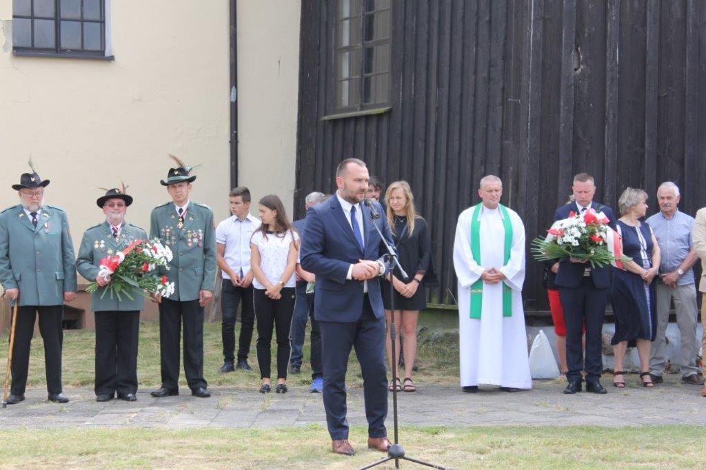 93.rocznica śmierci majora Zbigniewa Gorzeńskiego-Ostroroga. Uroczystości w Lgowie.