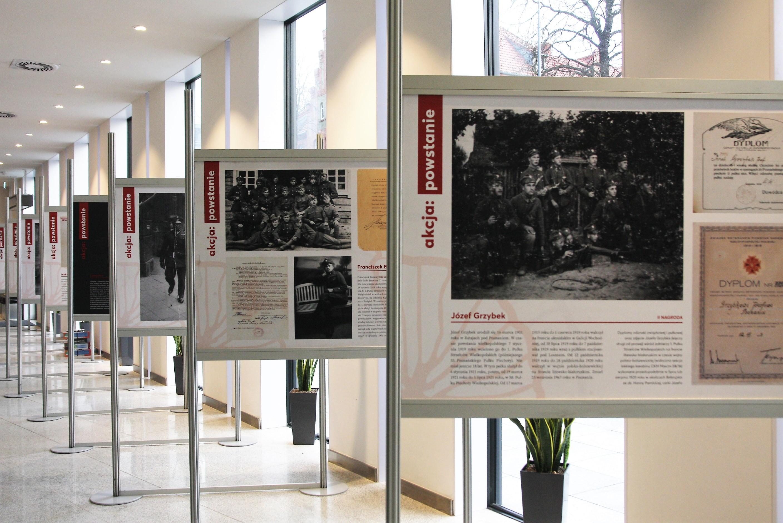 Wystawa Wydawnictwa Miejskiego POSNANA pn. AKCJA: POWSTANIE