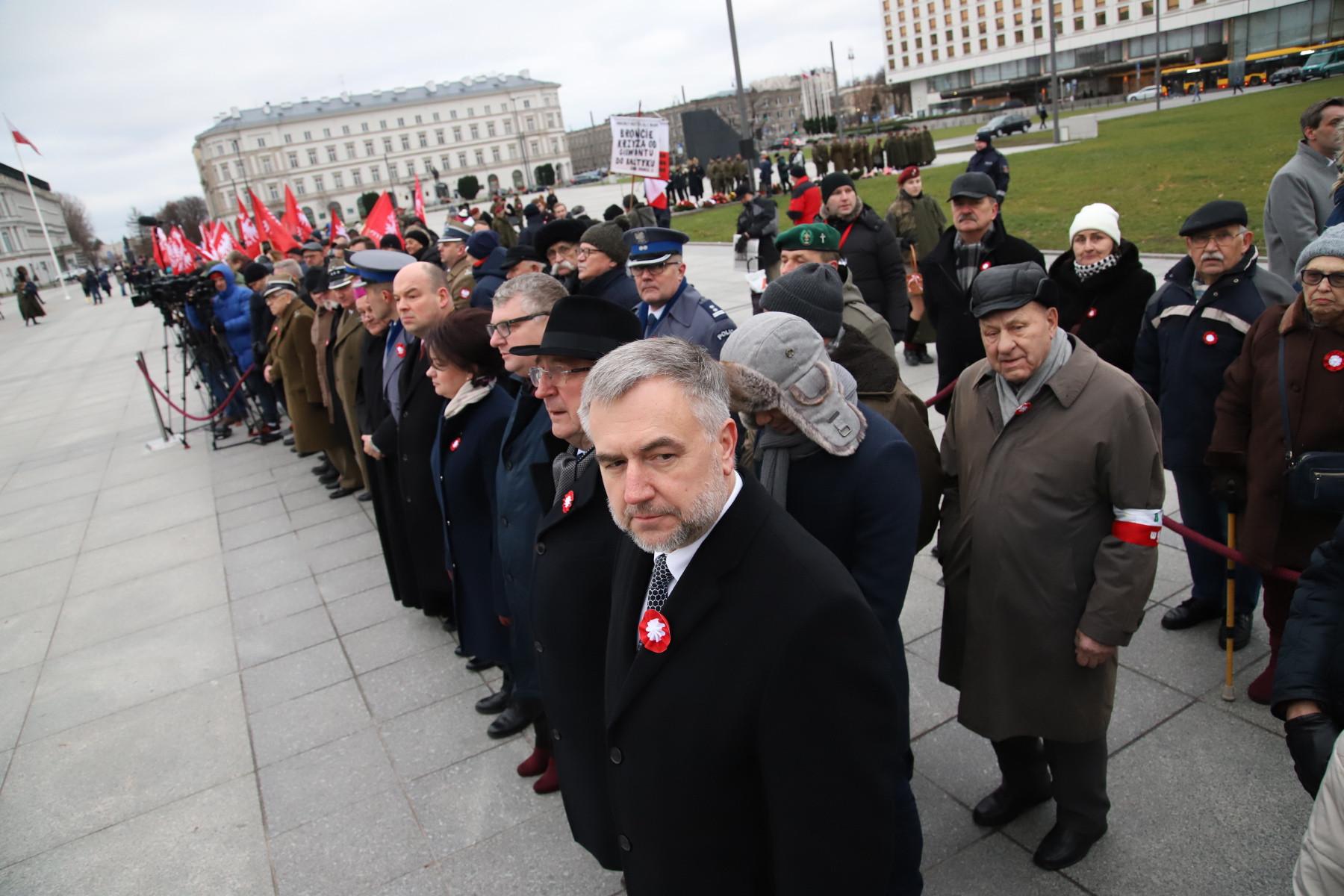 Uroczystości z okazji 101. rocznicy wybuchu Powstania Wielkopolskiego - relacja z obchodów w Warszawie