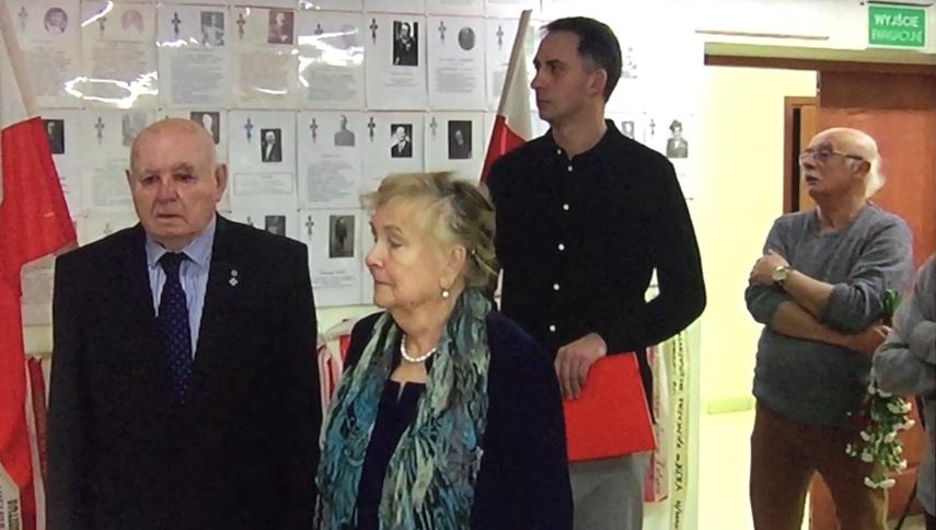 Odsłonięcie tablicy Ignacego Woźniaka w Muzeum Powstańców Wielkopolskich w Lusowie