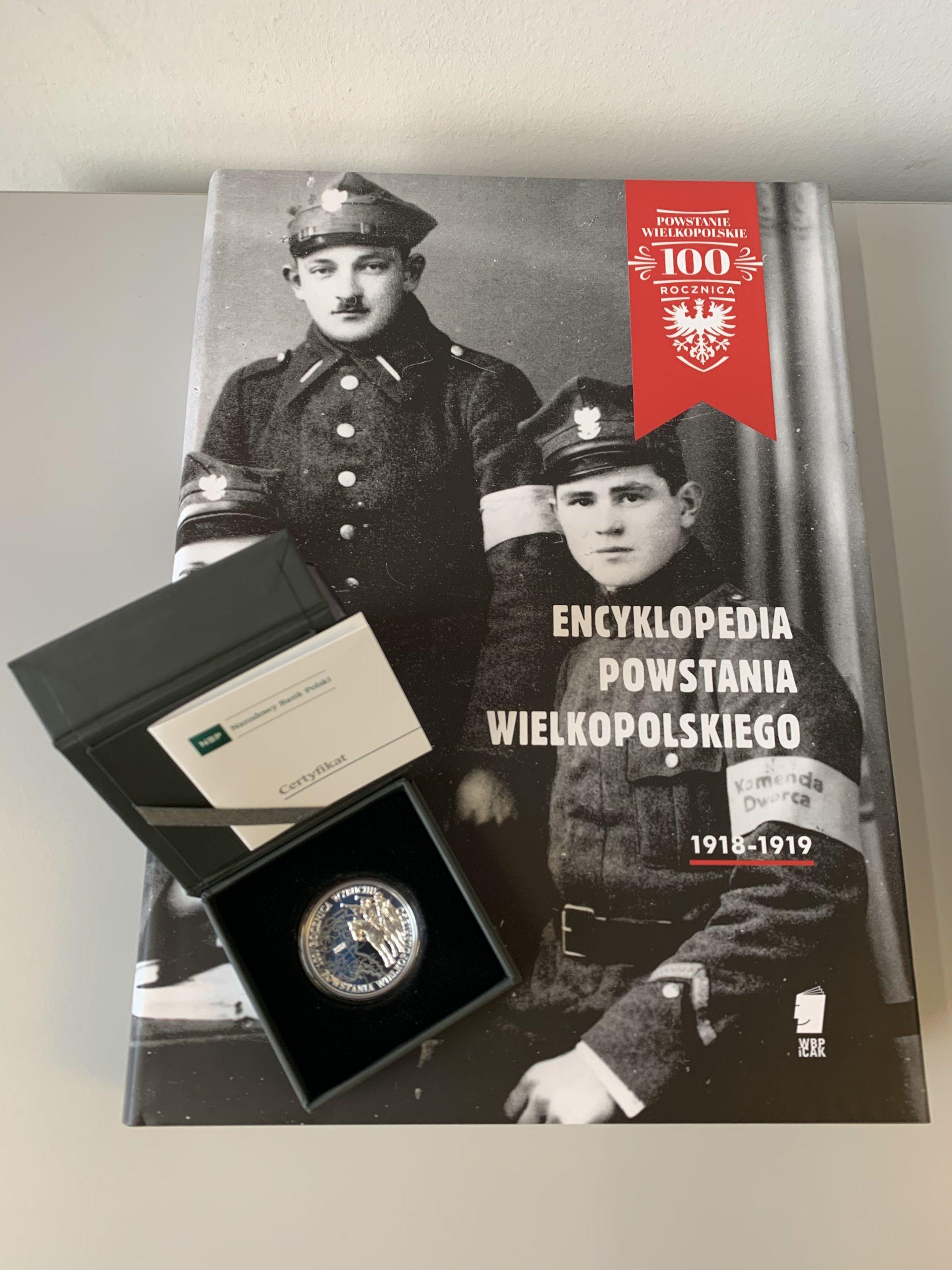 Powstańcza encyklopedia i moneta od Marszałka wesprą WOŚP