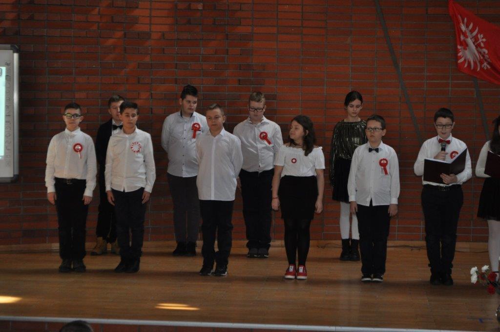 Obchody 101. rocznicy zakończenia Powstania Wielkopolskiego w Szkole Podstawowej w Żerkowie