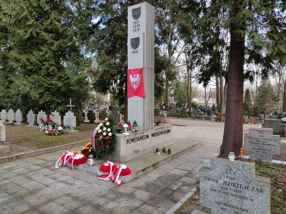 Marszałek Marek Woźniak uczcił w Warszawie 102. rocznicę wybuchu Powstania Wielkopolskiego 1918/1919